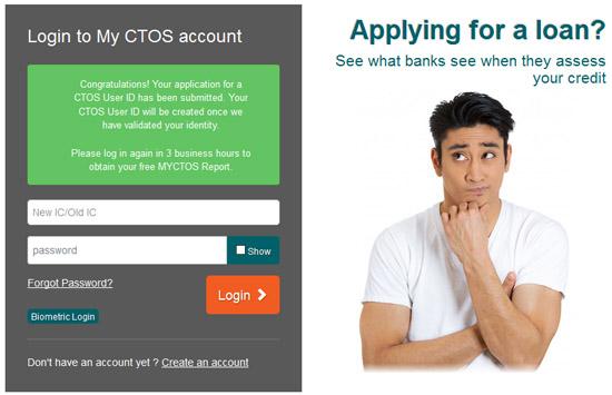 Cara Semak Status Kredit CTOS