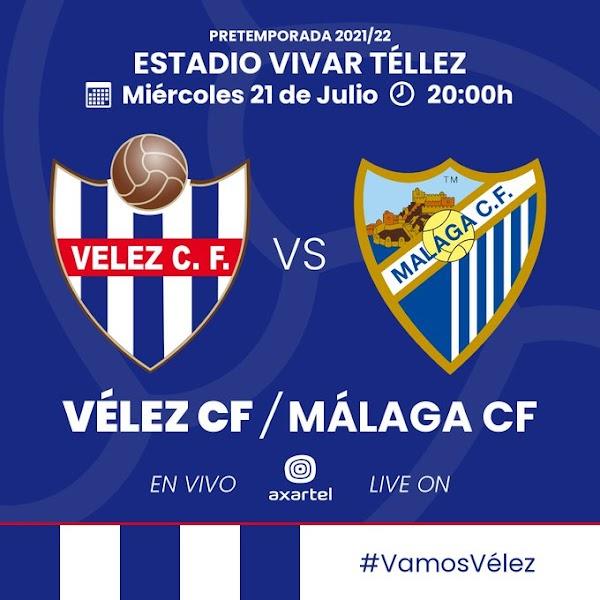 Axartel TV dará el Vélez CF - Málaga