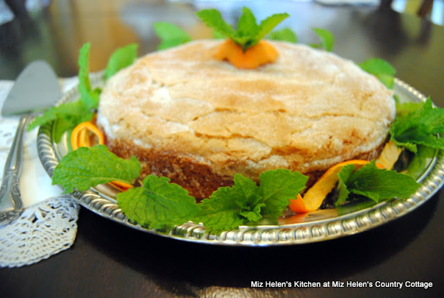 Orange Cornmeal Cake at Miz Helen's Country Cottage