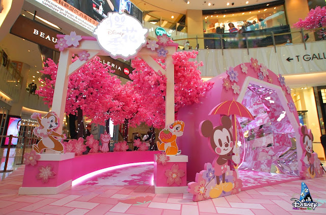 MOKO-CHERRY-BLOSSOM-2021, Disney, 新世紀廣場MOKO春の花見與大家一起在香港賞櫻