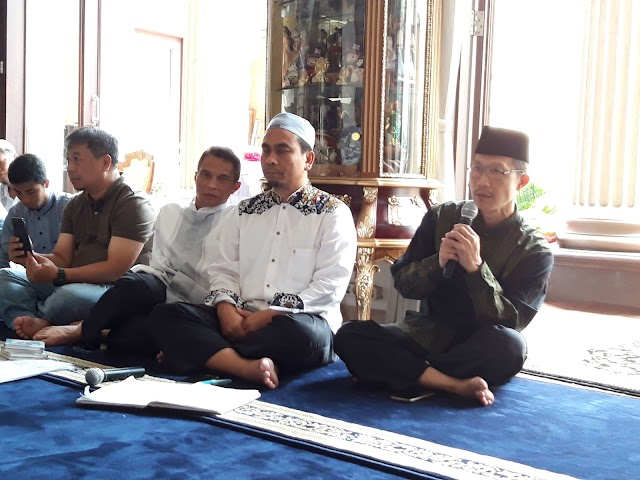 Kajian Bulanan ke 54 di Tanjung Barat Diawali Istighosah