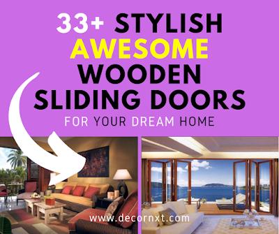 Wooden Sliding Doors For Your Living Room