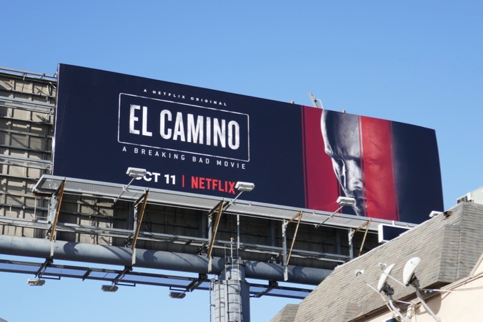 El Camino movie billboard