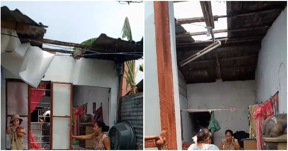 Pregnant woman gets roof removed by landlady