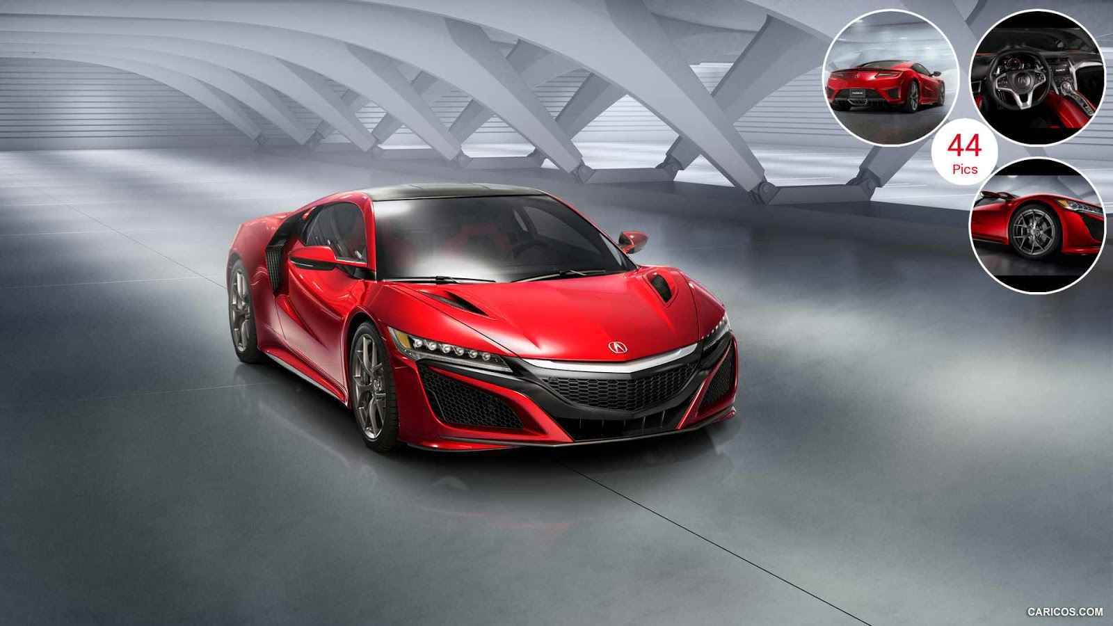 2016 Acura NSX HD wallpapers
