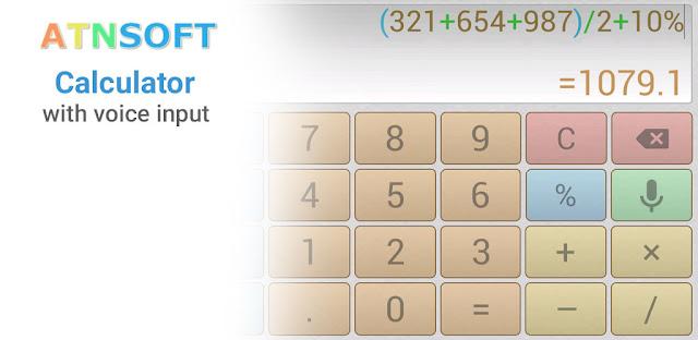 قم بتنزيل Multi Calculator Voice Calculator Pro 1.4.23 -حاسبة صوت متعدد الشاشات لنظام الاندرويد