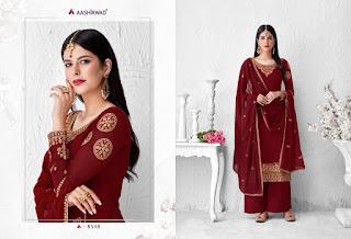 Aashirwad Saffron Salwar Kameez catalog wholesaler