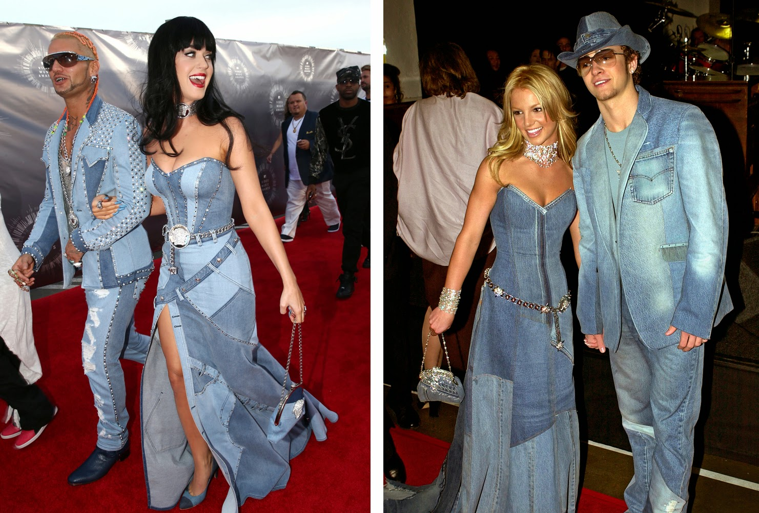 Tribute Katy Perry Dresses Mimicking Britney Spears