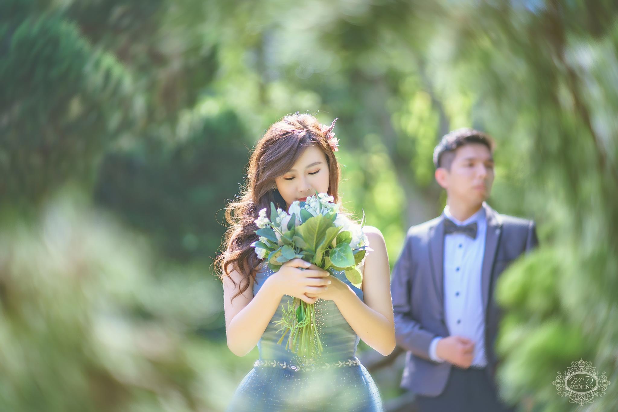 國內婚紗 浪漫風格 森林溪水 海邊黃昏婚紗 陽明山 大同大學婚紗 台北婚紗推薦