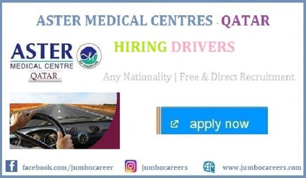 latest driver jobs in qatar 2021