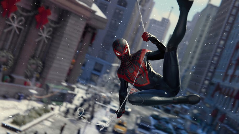 Spider-Man Miles Morales, PS5, Web Swing, 4K, #5.2202