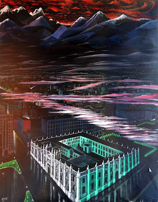 Obra de arte en venta Manuel Carmona: pintura santiago chile