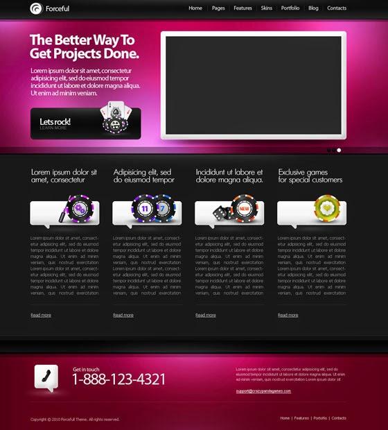 موقع templated لتوفير قوالب  HTML5 و CSS  مجانا