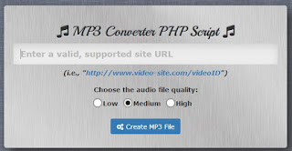 Review MP3 Converter PHP Script
