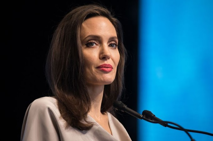 Angelina Jolie Alludes to Hollywood Sexual Misconduct Scandal in Emotional U.N. Speech