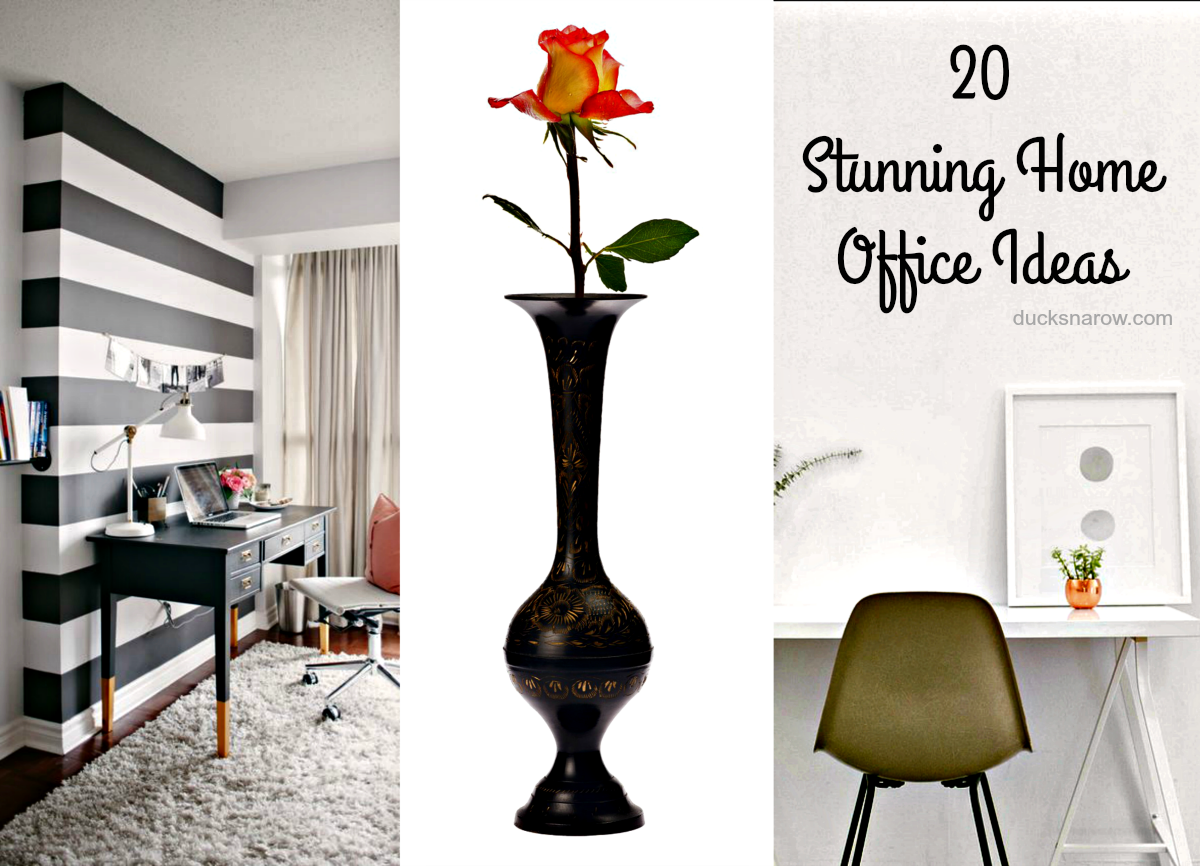 Cute Home Office Ideas: 20 Stunning Home Office Ideas