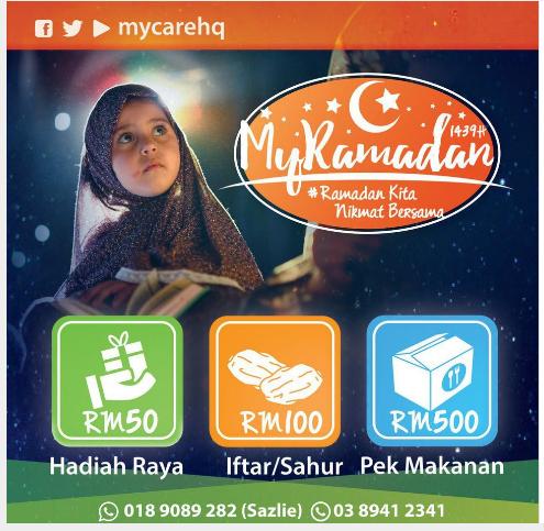 Sumbangan Projek MyRamadan Oleh Humanitarian Care Malaysia Berhad