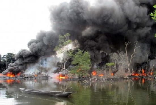 Operation Crocodile Smile: See Success Recorded By How Nigerian Army Against Militants In Niger Delta