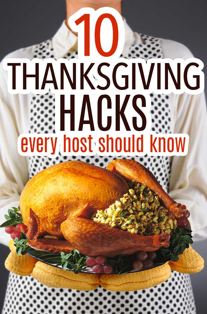 Thanksgiving hacks every host should know to plan a stress free holiday! Thanksgiving time savers to make life easier when planning Thanksgiving dinner. #thanksgiving #thanksgivingdinner #thanksgivingplanning #thanksgivinghacks