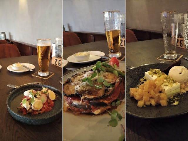 piatti vegetariani all'hotel Tatenhove