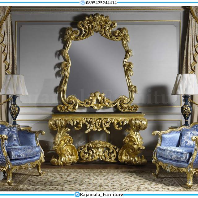 Harga Meja Konsul Mewah Terbaru Luxury Furniture Jepara RM-0416