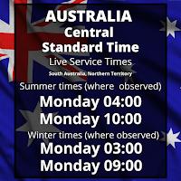 Australia Central Time