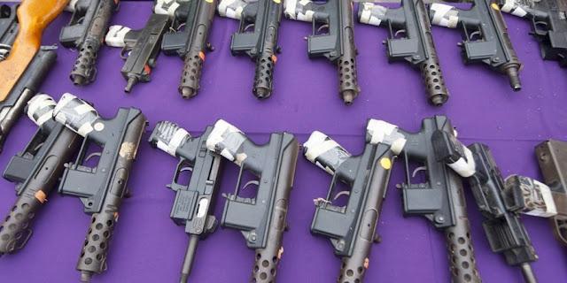 Los mexicanos cada vez estamos más armados