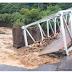 Banjir Robohkan Jembatan Mulak Lahat Sumsel, Rumah Hanyut