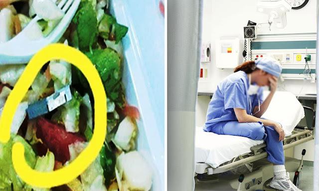 tunisia mahdia: female doctor find metal blade in food