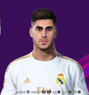 PES 2020 Faces Marco Asensio by So PES