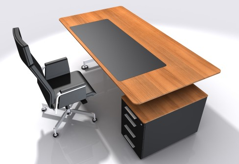 Modern office with meeting room design ideas