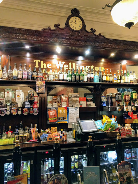 The Wellington Bar in Birmingham, England