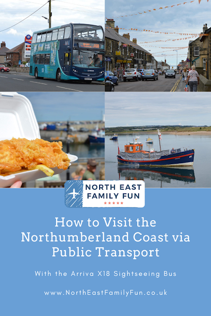 How to Visit the Northumberland Coast via Public Transport