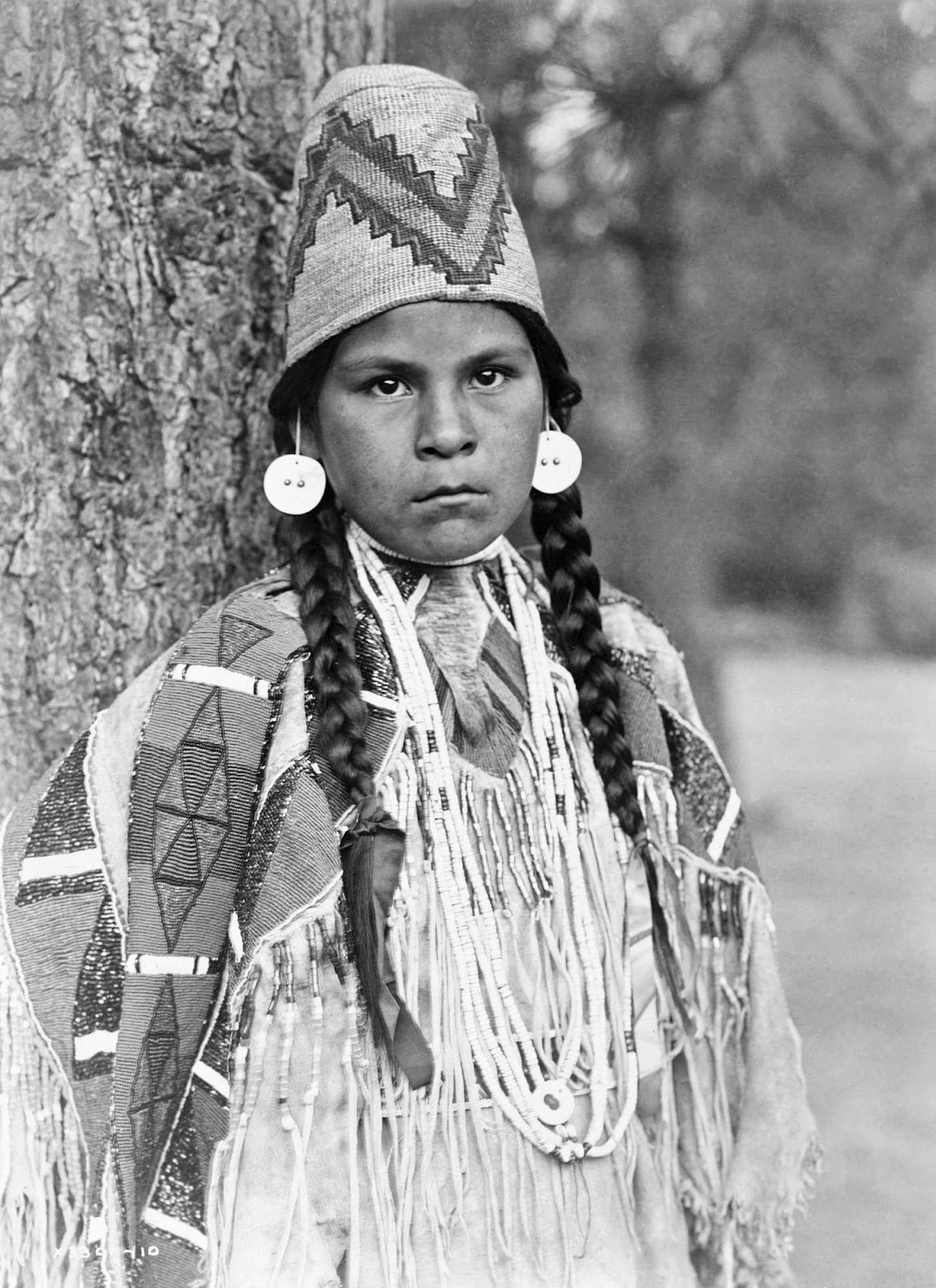 History In Photos Edward S Curtis - Indians Of The Northwest-6778