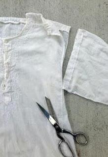 Erkek Gömleğinden Bluz Yapımı