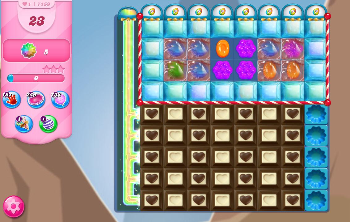 Candy Crush Saga level 7159