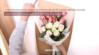 cara membungkus bunga wisuda