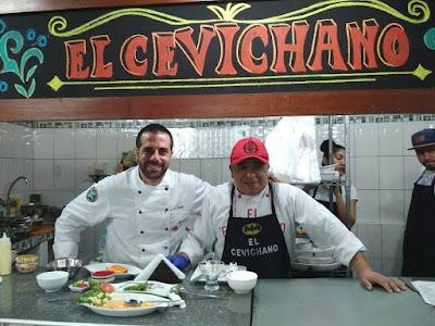 el viaje de Sergio, Chef vasco en Peru, Mercado de Surquillo, el cevichano