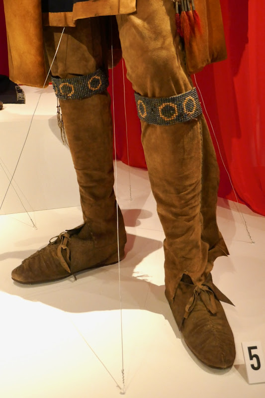 Outlander season 4 Chief Nawohali costume boots