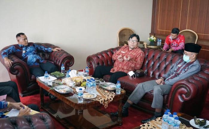 Anggota Ombudsman RI dan Kaper Lampung Kunjungi Lamsel