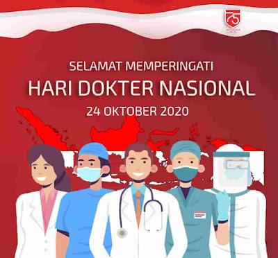 ucapan selamat hari dokter nasional 2020