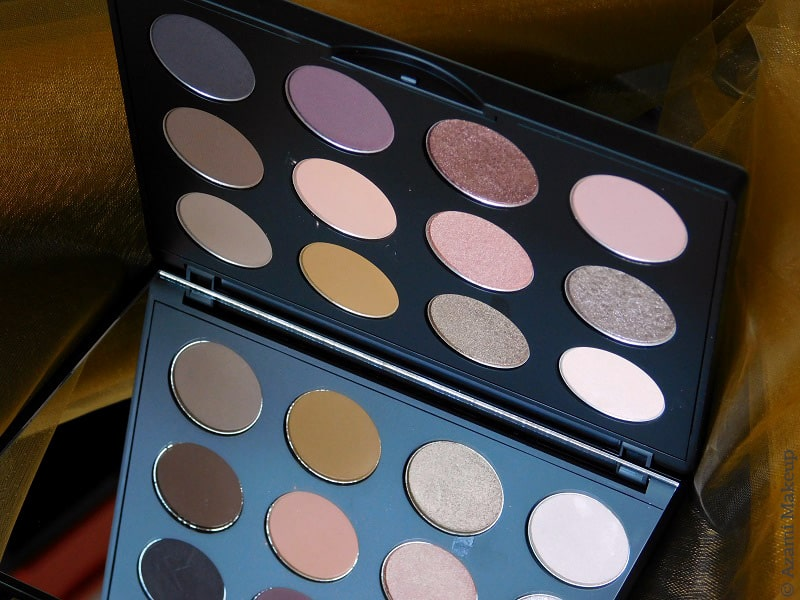 M.A.C. Cosmetics | Nude Model Eyeshadow Palette - Art Library Collection - Soar - Down to an Art - You Wouldn\'t Get It - Flame-Boyant - It\'s Designer - Swatches & Review - Avis - Boom Boom Bloom