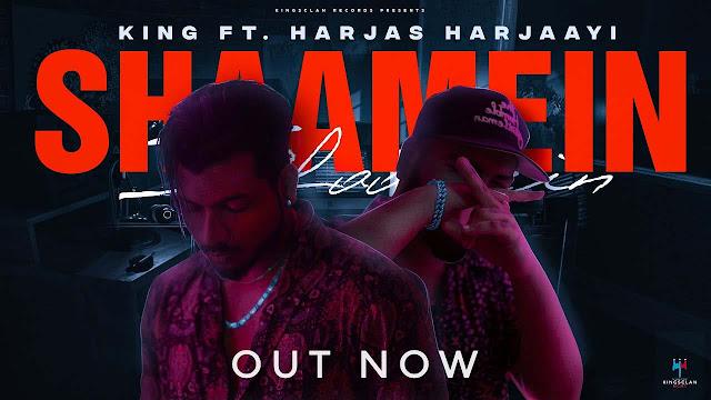 Shaamein Lyrics - King & Harjas Harjaayi