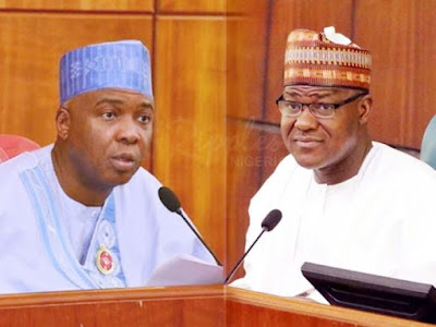 Saraki and Dogara React To Invasion Of NASS By DSS