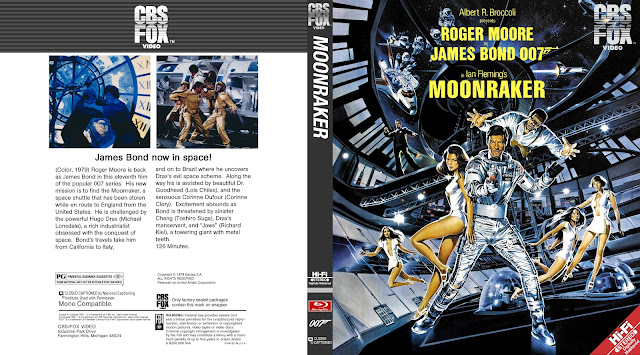 Moonraker Bluray Cover