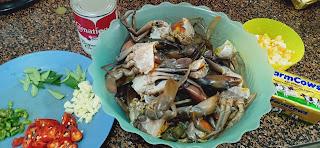 Resepi Ketam Mentega Telur Masin Yang Senang, Mudah & Sedap | Butter Salted Egg Crab
