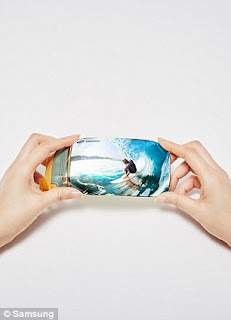 Samsung stretchable flexible display