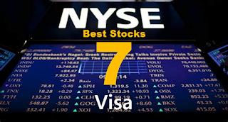 7 Best Stocks : NYSE:V Visa stock price forecast