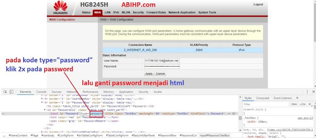 Ubah Password Indihome