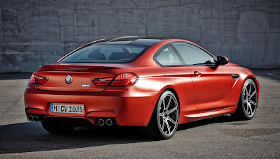 2016 BMW M6 Coupe Rear view